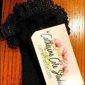 Catherine Cole Bobby lace socks